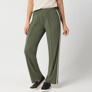 Lisa Rinna Side Stripe Pull-On Track Pant
